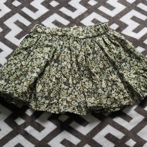 Gap Kids Floral Skirt Little Girls